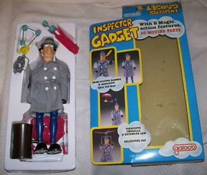 Inspector Gadget in Box by Galoob 1983 Action Figure Doll