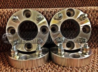 4 Wheel Spacers Adapters 4x100 to 4 x 100 1 25 Thick 4 Lug 12x1 5 32mm