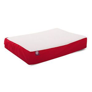 Large Extra Large 34x48 Orthopedic Dog Pet Bed Red