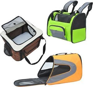 Pet Dog Cat Carrier Tote Crate Backpack Car Seat Air Bag Animal