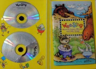 Wee Sing Book and CD Collection by Pamela Conn Beall and Susan Hagen Nipp