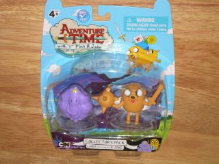 Cartoon Network Adventure Time Collector's Figure 2 Pack w Lumpy Jake
