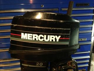 1993 Mercury 20 HP Outboard Motor 25 Water Ready Boat Engine 30 40 Mariner WOW