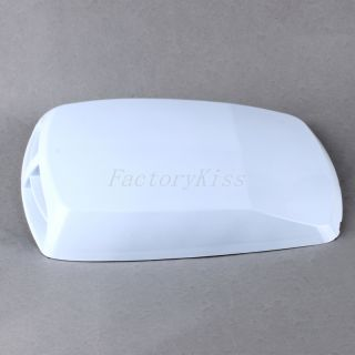 Universal Car Air Flow Intake Bonnet Decorate Scoop Turbo Vent Cover White L Gau