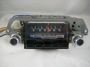1968 Ford Galaxie 500XL Am FM Radio Very Nice F8TBF