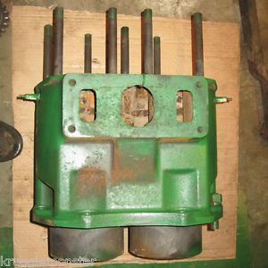 John Deere Styled G GM Engine Cylinder Block F550R Std Bore No Cracks Guaranteed