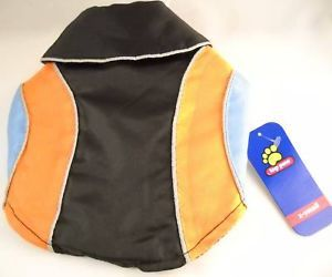 Top Paw Colorblock Reflective Dog Coat Size XS