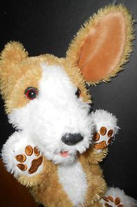 "FurReal Friends Tumbles Beagle Roll Over Puppy Dog 16"" Interactive Toy Cute"