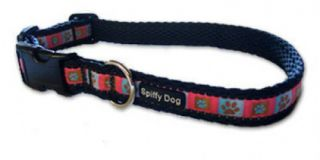 Spiffy Dog Pink Paws Pet Dog Collar New Style