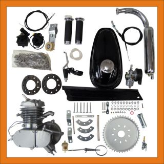 80cc 2 Stroke Bicycle Cycle Engine Assy Motorized Bicycle Parts All Motor Kits