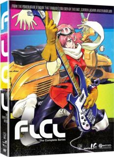 FLCL Fooly Cooly Complete Collection Anime DVD R1 704400052408
