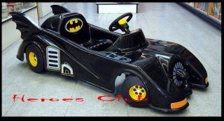 Hot 1989 Batmobile Battery Powered Electric Ride on Kids Vintage Batman Toys