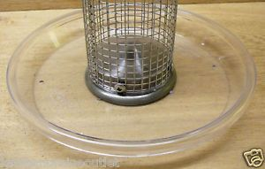 "Aspects 8 5"" Round Seed Tray for Tube Bird Feeders 050"