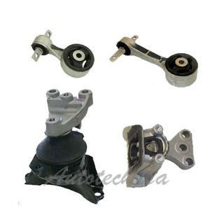 06 10 Honda Civic 1 8 Transmission Engine Motor Mounts A4530 A4546 A4548 A4547