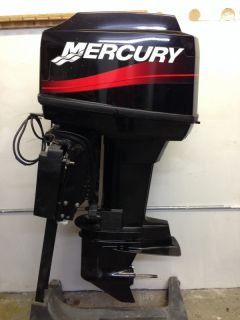 2004 Mercury 60 HP 2 Stroke Rebuilt Outboard Motor Boat Engine 50 Water Ready