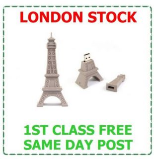 16GB Eiffel Tower USB Memory Stick Flash Pen Drive