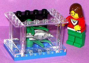 Lego Custom Small Fish Aquarium Animal Plant Pet Shop 10218 Panel 1 x 3 x 4