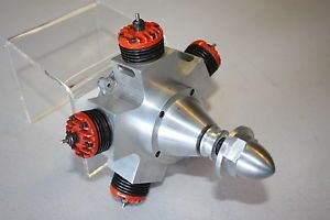 McCoy 95 Five Cylinder Radial Prototype Project Nitro Model Airplane Engine
