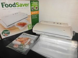 FoodSaver Vacuum Sealer V2450 Food Saver Starter Kit