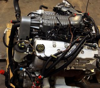 03 04 Ford Mustang Cobra Engine Swap Kit Fuel Tank Wiring Computer Speedo Eaton
