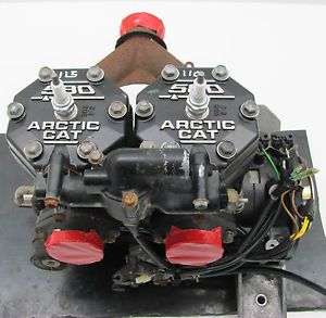 Arctic Cat 580 EFI Engine Motor 1996 ZR Ext Deluxe Used 0662 164