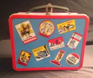Vintage Ohio Art Lunch Box Great Shape