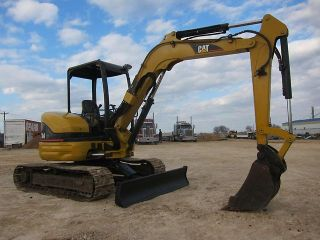 2005 Caterpillar 304 CR Mini Excavator Excavator Loader 24 Pics