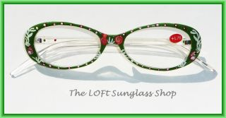 Fun Tropical Vacation and Fish Pattern Quality Reading Glasses R229