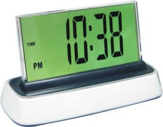 Moshi Voice Activated Talking Digital Alarm Clock WOW