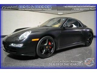 Carrera s Manual Convertible 3 8L CD Traction Control Rear Wheel Drive ABS A C