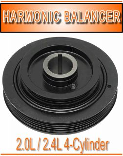 Toyota 4 Cyl Crankshaft Pulley Damper Harmonic Balancer