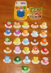 Vtech Fridge ABC Food Fun Magnetic Letter Alphabet Set