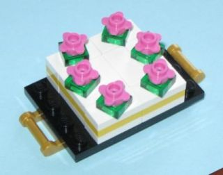 Lego Custom Food Bakery Shop Wedding Chocolate Cake Topper Birthday Friends