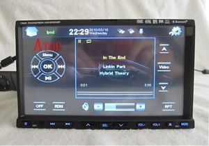 Double DIN in Dash Car DVD Player Deck Radio GPS Nav