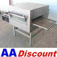 "Used Lincoln Impinger II 07 Natural Gas Conveyor Oven 18"" Belt Pizza 1178 1116"