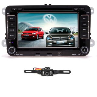 "LITB 2Din 7"" Digital Touchscreen Car Stereo DVD Player GPS RDS Radio BT TV"