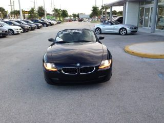 07' BMW Z4 Automatic Alloy Wheels Very Cean Black on Black Only 43K Miles