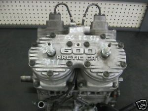 Arctic Cat Firecat Crossfire 600 EFI Snowmobile Engine AC Eng 31