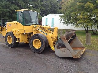 Details about KAWASAKI 65ZV RUBBER TIRED WHEEL LOADER PAYLOADER PAY