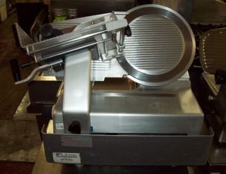 "Bizerba Werke 12"" Automatic Meat Slicer German Made Commercial Stainless"