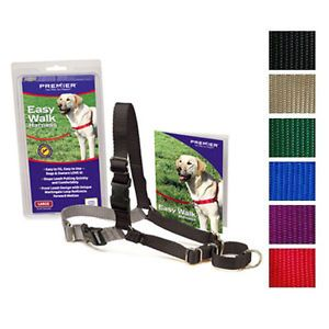 Premier Gentle Leader Easy Walk No Pull Dog Nylon Harness Pick Color Size