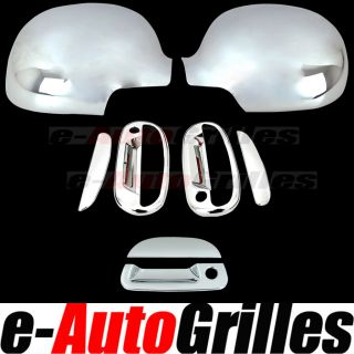 97 03 Ford F150 Chrome Mirror Cover 2 Door Handle Tailgate Cover Combo Deal