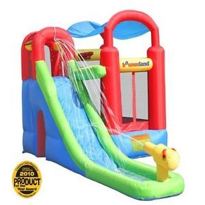 New Inflateable Bounce House Water Slide Bouncer Kids Backyard Patio Pool Sports