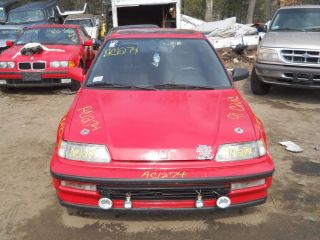 Engine Motor Brain Box Honda Civic See Also Delsol CRX 1991
