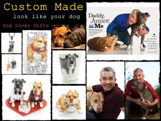 Deposit Listing Custom Made Dog Lover Gifts Personalized Pit Bull Terrier Gifts