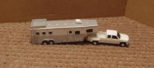 1 64 Custom Built Horse Trailer Toy Goes with DCP or Ertl