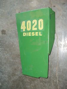 John Deere 4020 Engine Side Panel Early Models SN 200 000 Left Side