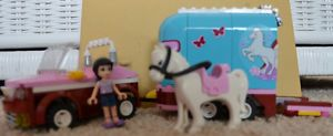Lego Friends Emmas Horse Trailer Set Lots of Fun