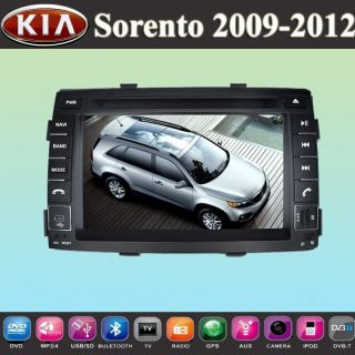 "7"" Car DVD Player GPS Navigation for Kia Sorento 2010 2012 Touch Screen iPod USB"