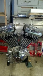 Harley Custom EVO Motor Engine Basketcase